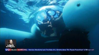 Une promenade sous-marine avec Uber