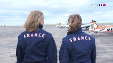 Une rencontre de haut vol avec deux femmes d'exception