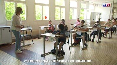 Une rentrée particulière dans un collège à Nice