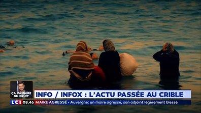 Une scène de noyade en Crète fait polémique