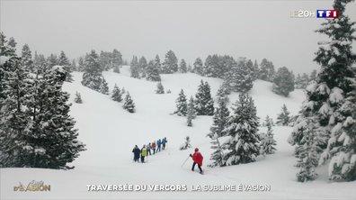 Une semaine en raquettes dans le massif du Vercors : elles relèvent le défi
