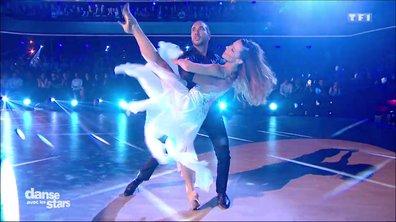 Une danse contemporaine pour Laurent Maistret et Denitsa Ikonomova lors du troisième prime