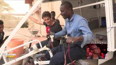 Une voiture solaire pour apporter de l'électricité en Afrique