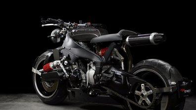Lazareth transforme une Yamaha YZF-R1 en Caferacer ultra-futuriste