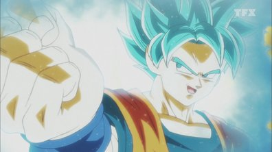 Dragon ball super - EP104 - Une bataille à la vitesse de la lumière ! Goku et Hit unissent leurs forces