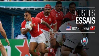USA - Tonga : Voir tous les essais du match en vidéo