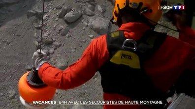 Vacances : 24 heures avec des secouristes de haute montagne