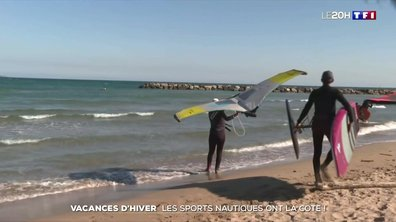 Vacances d'hiver : les sports nautiques ont la cote !
