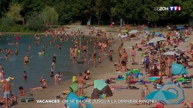 Vacances : on se baigne jusqu'à la dernière minute