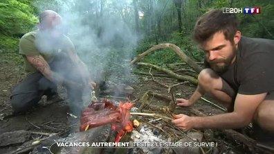 Vacances : participation à un stage de survie en pleine nature