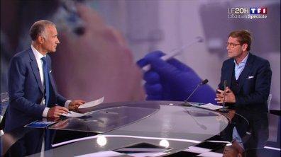 """Vaccin AstraZeneca : selon Gérald Kierzek """"le risque est extrêmement faible"""""""