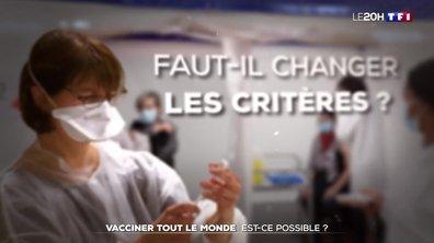 Vaccination contre le Covid-19 : peut-on élargir les critères et vacciner tout le monde ?