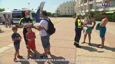 Vaccination : le rush dans les stations balnéaires