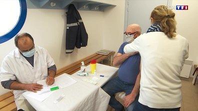 Vaccination : les habitants de l'Île-d'Houat ont reçu leur seconde dose