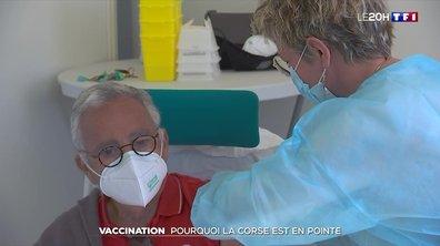 Vaccination : pourquoi la Corse est en pointe