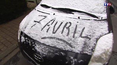 Vague de froid : les habitants du Nord surpris par la neige au réveil