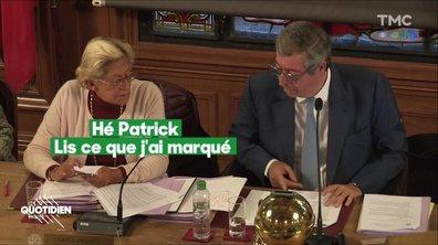 """""""Je vais rigoler un peu"""" : les époux Balkany s'échangent des petits mots à la mairie"""