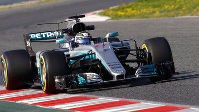 F1 2017 : 1er jour d'essais sous le signe de Mercedes à Barcelone