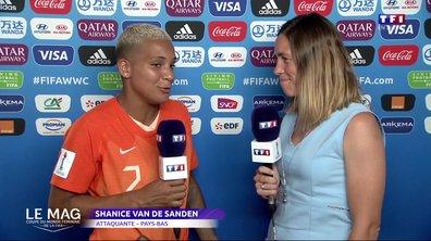 """Van de Sanden : """"Je suis fière de mon équipe"""""""