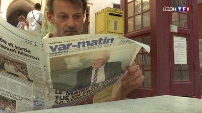 Var : émotion et indignation après le décès du maire de Signes