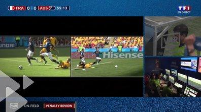 France-Australie : les Bleus ont bénéficié du premier penalty accordé par assistance vidéo en Coupe du monde
