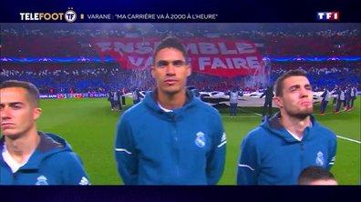 """[EXCLU Téléfoot 15/09] - Varane avant PSG-Real : """"Le collectif parisien est très fort"""""""