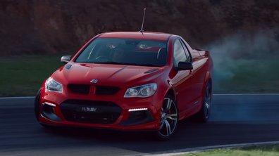 Vauxhall HSV présente son nouveau pick-up Maloo