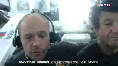 Vendée Globe : l'impressionnant sauvetage de Kevin Escoffier
