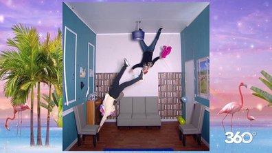 Impressionnant : JustRiadh fait une chute de 4 mètres