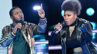 "THE VOICE 2020 - Verushka VS Samson chantent ""Que je t'aime"" de Johnny Hallyday (BATTLES)"