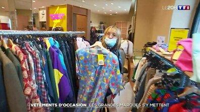 Vêtements d'occasion : même les grandes enseignes s'y mettent