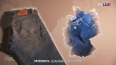 Vêtements de seconde main : le parcours d'un jean