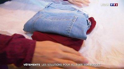Vêtements : les solutions pour s'habiller moins cher