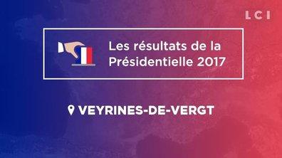Veyrines-de-Vergt (24380) : les résultats de la Présidentielle 2017