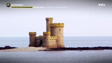 L'Île de Man en Jaguar F-Type Roadster