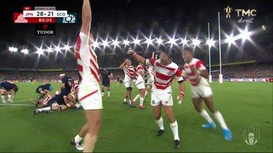 Japon - Ecosse (28 - 21) : Revivez la dernière minute du match en vidéo