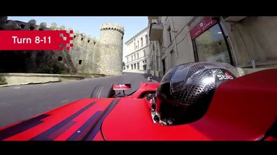 F1 2016 : Le tour du circuit du GP d'Europe à Bakou