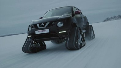 Nissan Juke Nismo RSnow 2015 : présentation officielle