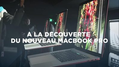 VIDEO. Premier aperçu du nouveau MacBook Pro d'Apple