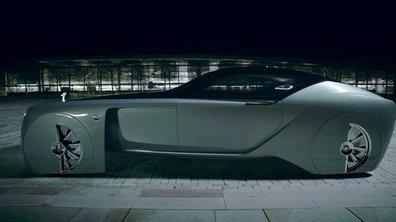 Rolls-Royce Vision Next 100 : le concept-car EX103 montre le luxe automobile de 2116