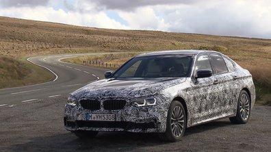 La nouvelle BMW Série 5 2017 en teaser vidéo
