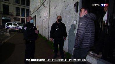 Vie nocturne : immersion avec les policiers en première ligne