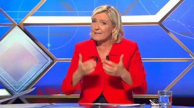 """Marine Le Pen : """"Un million de pauvres supplémentaires sous le dernier quinquennat"""""""