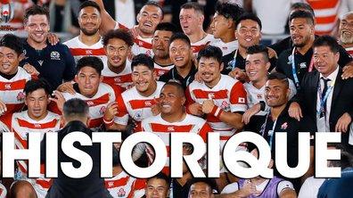 La Quotidienne de la Coupe du monde du 13/10 : Le Japon écrit son histoire !