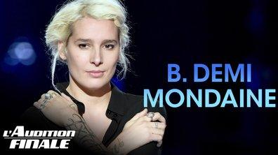 """B. Demi-Mondaine - """"Avec le temps"""" (Leo Ferré)"""