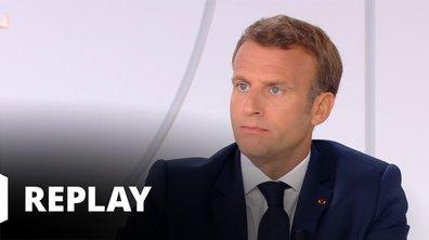 Interview du Président de la République Emmanuel Macron