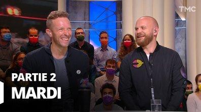 Quotidien, deuxième partie du 5 octobre 2021 avec Coldplay