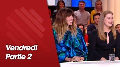 Quotidien, deuxième partie du 8 février 2019 avec Amy Adams, Lou Doillon et les jeunes qui ont débattu avec Macron