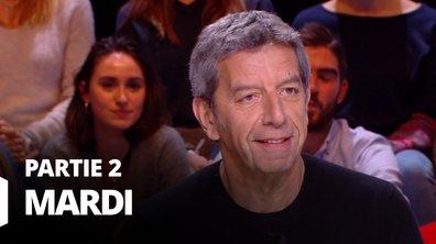 Quotidien, deuxième partie du 10 mars 2020 avec Hervé Temime et Michel Cymès