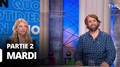 Quotidien, deuxième partie du 11 mai 2021 avec Dominique Costagliola, Mélanie Laurent et Alexandre Aja
